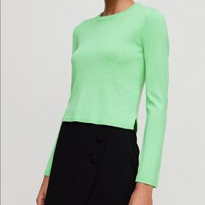 Babaton Nathaniel Sweater Fluro Lime Green